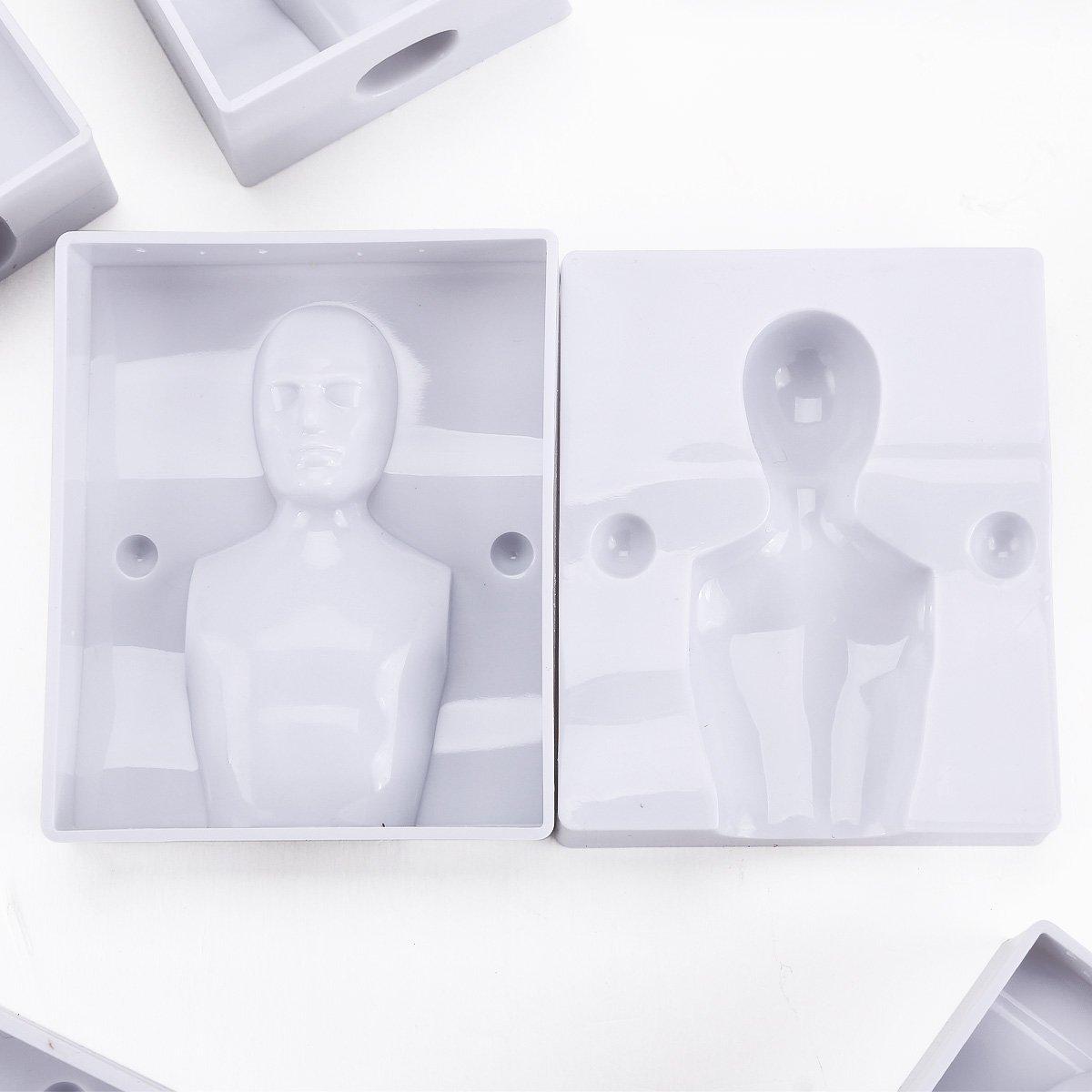 NOCM 4x moule 3D homme femme garcon fille Emporte-piece Pate a sucre Gateau Figurine