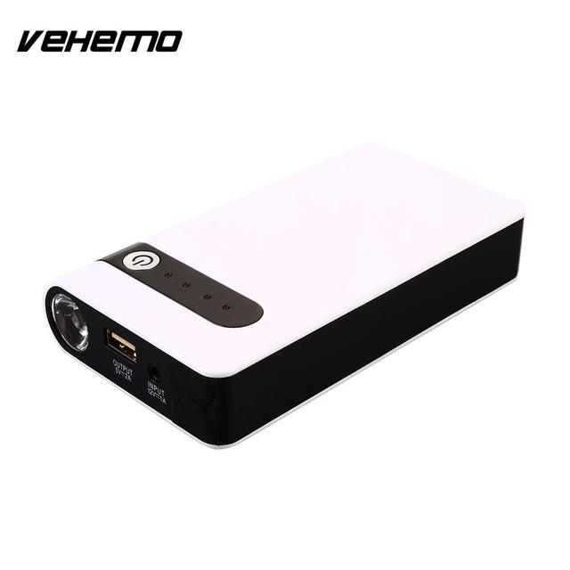 VEHEMO LED Light USB Battery Charger Automobile Power Kit Jump ...