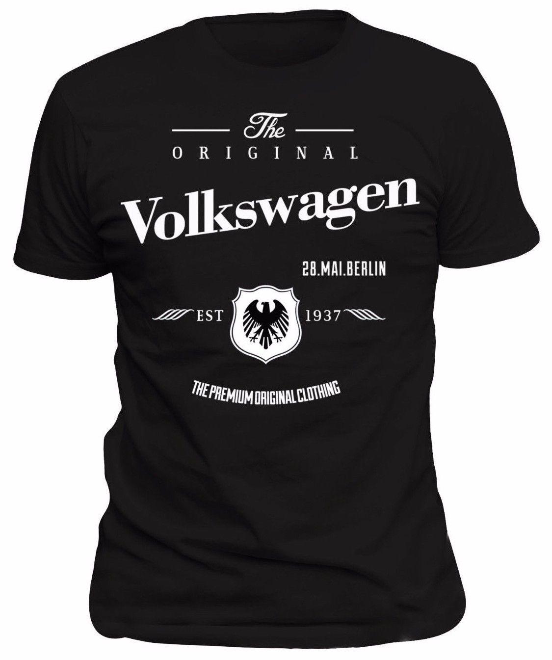 2018 Hot Sale T-Shirt Tiguan, Passat, Touran, Shar ,TDI, GTI GOLFING Berlin car fans FUN 256_ S Summer Style Tee Shirt