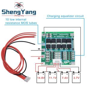 Image 1 - New Arrival 4S 30A 14.8V Li ion Lithium 18650 Battery BMS Packs PCB Protection Board Balance Integrated Circuits