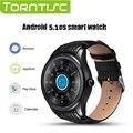Torntisc q3 mais smart watch mtk6580 1.39 polegada display resolução 400*400 suporte cartão nano sim monitor de freqüência cardíaca gps wi-fi