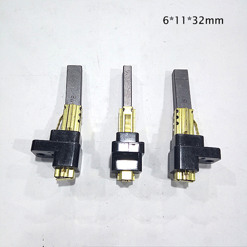 2PCS/LOT,6*11*32mm Motor Carbon Brush Of Vacuum Cleaner With High Quality Of Vacuum Cleaner Parts For Various Vacuum Cleaner