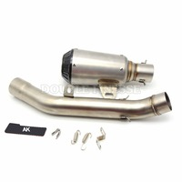 Hot Sale Motorcycle Exhaust Pipe Scooter Muffler Pipe Dirt Bike Parts For Z800 35 51MM 2013