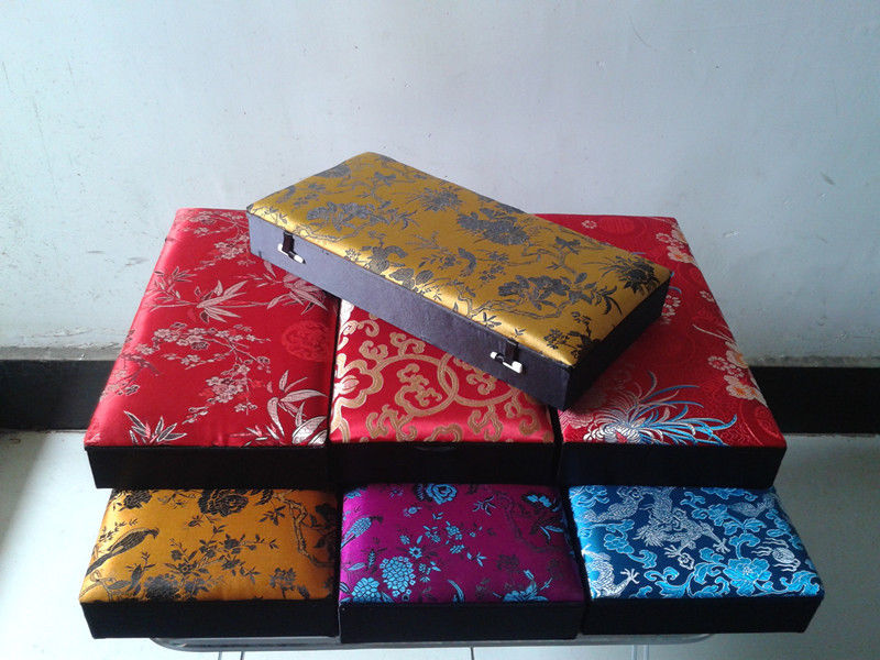 Antiques Chinese Exquisite Handmade Women Child Cloisonne Box Boxes