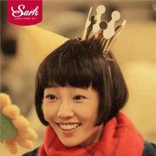 Party-Hat Crown Festival Children DIY Silver Gold Dress-Up-Props Fashion 10PC
