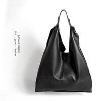Новое прибытие Простой стиль роскошный фирменный дизайн женская кожаная сумочка Складная Большая емкость женские сумки леди сумка шоппер