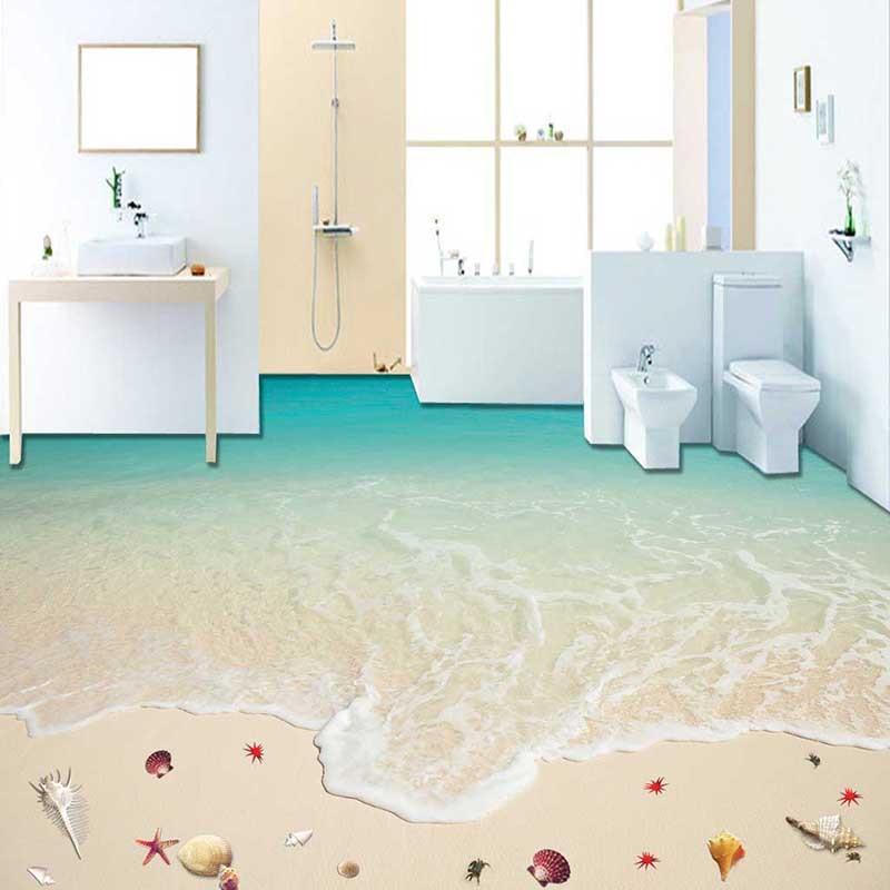 Kinderzimmer Aufkleber Tapete : 3D Ocean Floor Decals