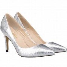 Neue Europäische und Amerikanische weibliche/frauen mode schuhe mit spitzen 8 cm high heels pumps