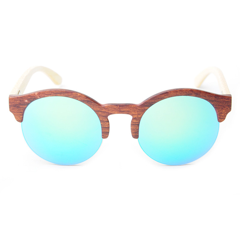 Frauen Rahmen Gläser Holz Lonsy c3 Designer Bambus Marke De Masculino C1 c4 Sol Oculos Halb Männer Ls5020 Sonnenbrille c2 Mode x44zqFBX