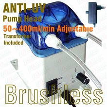 50~400ml/min, 230V Peristaltic Pump, Reversible Brushless Motor, Exchangeable Pump Head & FDA approved PharMed Peristaltic Tube