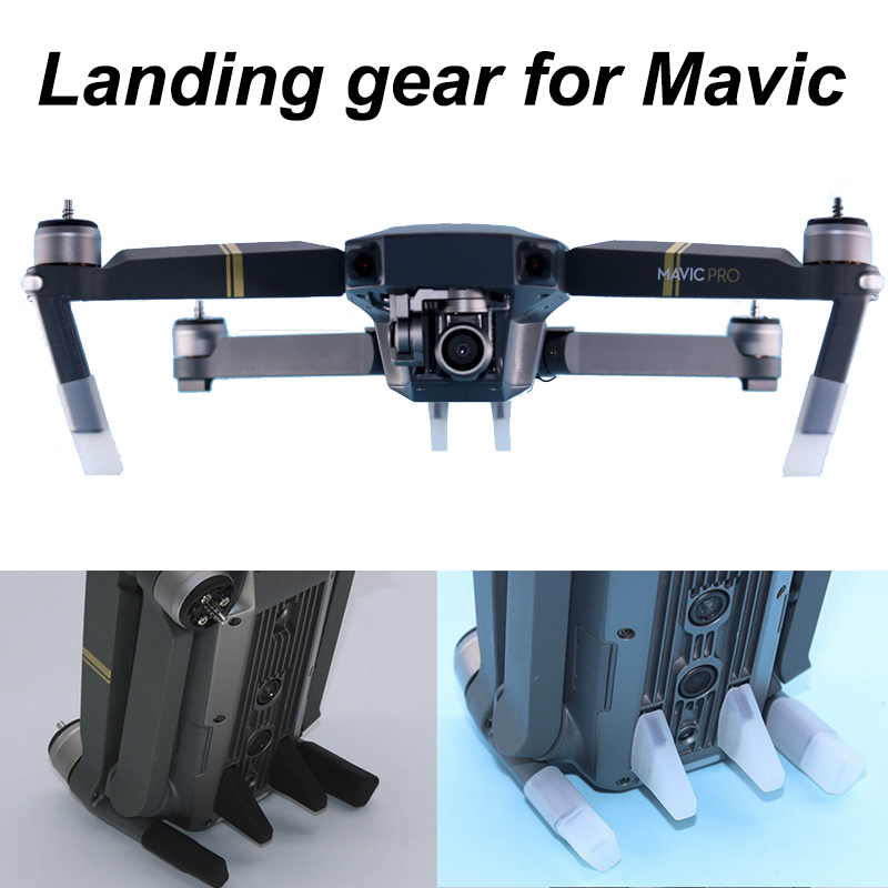 4pcs Soft Landing Gear Kits For DJI Mavic Pro Platinum Drone Silicone Leg Feet Heightened Extender Guard Protector Spare Parts