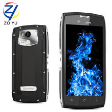 Balckveiw BV7000 pro Smartphone IP68 teléfono Móvil Android 6.0 4G + 64G 5.0HD 5 GWiFi Impermeable ya prueba de polvo 3500 mAh teléfono Celular