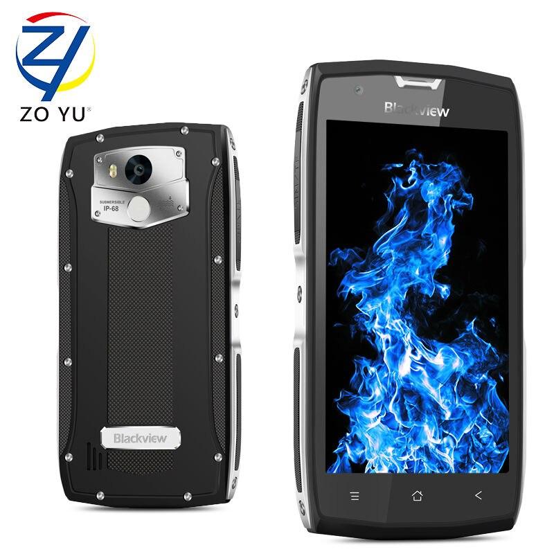 Balckveiw BV7000pro Smartphone IP68 teléfono Móvil Android 6.0 4G + 64G 5.0HD 5