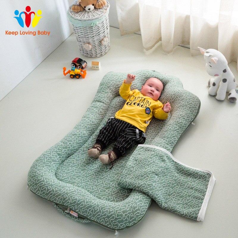 Draagbare Katoen Wieg Hoeslaken Zachte Baby Bed Matras Cover Protector Cartoon Pasgeboren Beddengoed Voor Ledikant Size 60*110 Cm Voor Het Verbeteren Van De Bloedsomloop