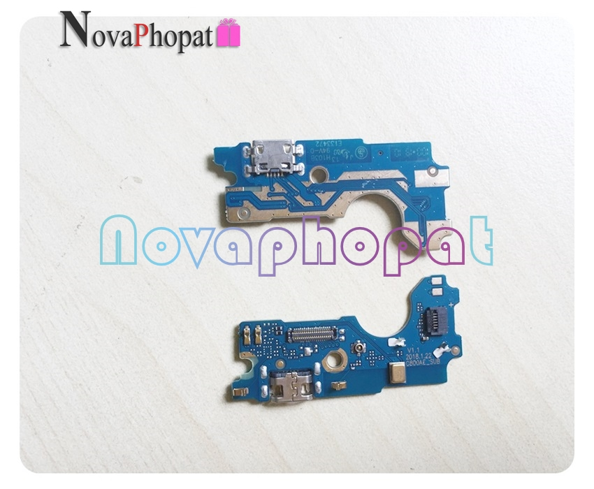 Novaphopat For <font><b>BQ</b></font> <font><b>BQ</b></font>-6015L Universe Charger Port USB Dock Charging Port Connect Connector Flex Cable Microphone MIC +tracking image