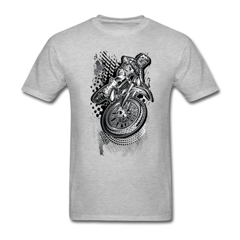 Camiseta de hombre MX Dirt Bikin Grunge Music kawaii Crazy Motor Rider, camiseta amarilla de manga corta para hombres, ropa de algodón Natural