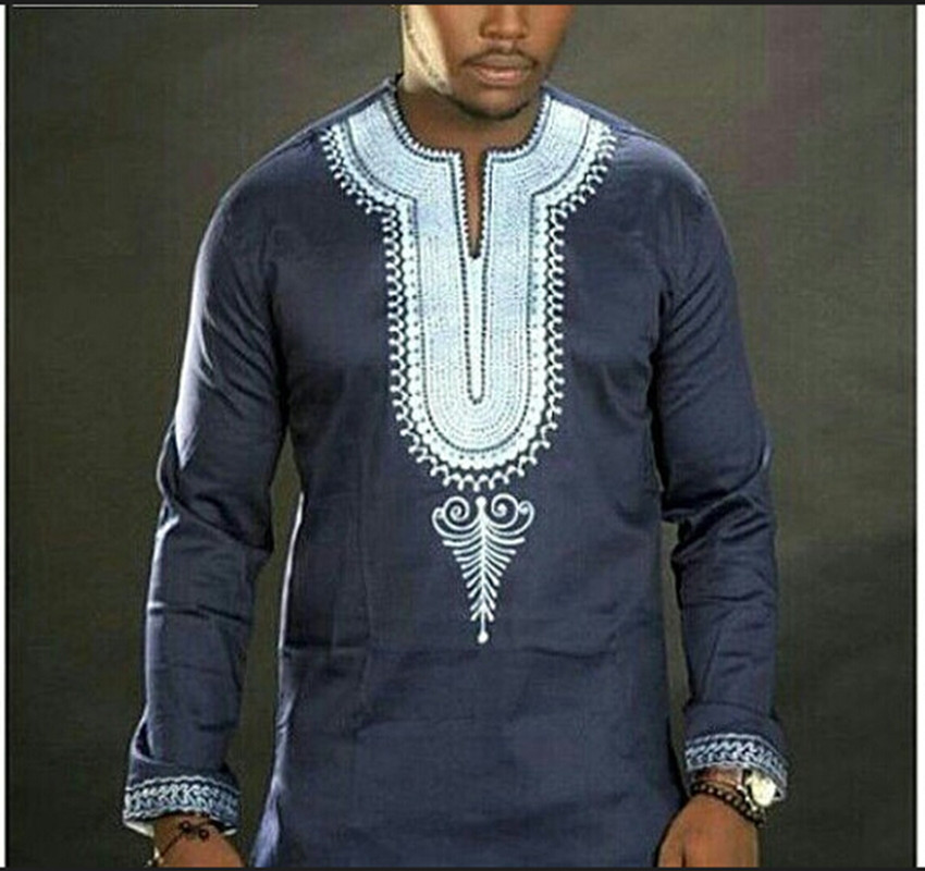 Traditional African Clothing African Clothing Special Offer Cotton Polyester Men 2017 New Folk