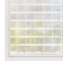 Funlife Decorative Privacy Window Film Vinyl Self-adhesive Glass Clings No-Glue Self Static Cling Sticker
