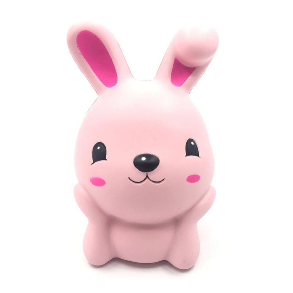 Cute Gift 15cm Squishy Pink Cute Rabbit Squeeze Slow Rising Fun Toy Gift Phone Strap Decor 28S7919 drop shipping