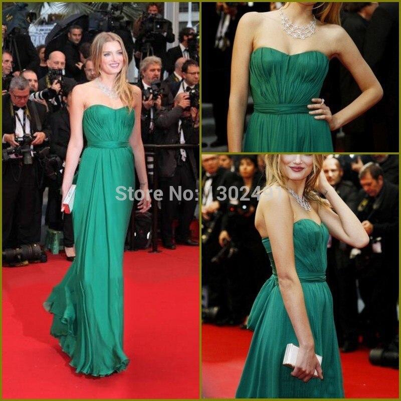 Emerald Green Red Carpet Dresses