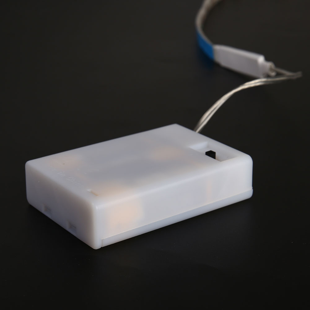 RGB Гирлянды светодиодные полосы света 4.5 В Батарея Мощность Водонепроницаемый Освещение лампы бар 600lm