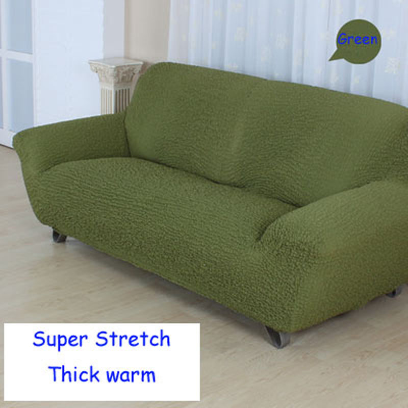 Us 57 75 33 Off Stretch Slipcover Sofa Cover Couch Green Cover Full Cover All Inclusive Non Slip Sofa Sets Red Colour Sofa Covers Cushion In Sofa