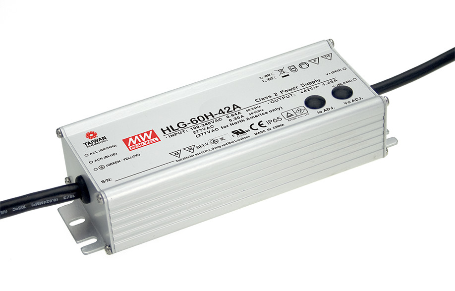 1MEAN WELL original HLG-60H-54A 54V 1.15A meanwell HLG-60H 54V 62.1W Single Output LED Driver Power Supply A type [powernex] mean well original hlg 40h 54a 54v 0 75a meanwell hlg 40h 54v 40 5w single output led driver power supply a type