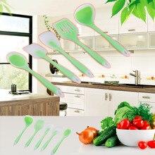 1 Stück Hot Silikon 5 Stück Küche Kochen Utensil Set Hitzebeständig Nicht Stick Werkzeuge