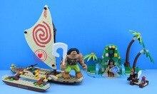 10663 Princesa Moana Viagem Oceânica fit legoings Princesa modelo de Blocos de Construção tijolos Amigos Meninas Brinquedos 41150 presente das meninas do miúdo do brinquedo