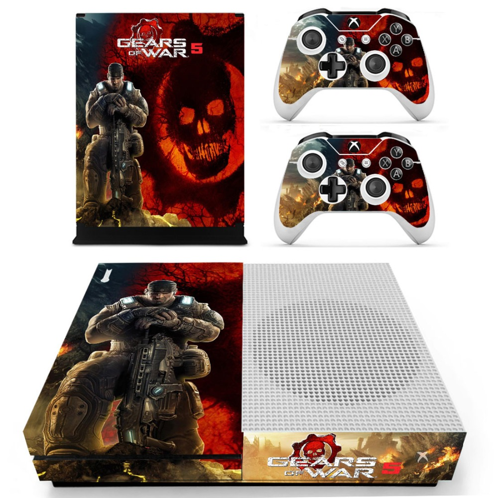 Gears Of War 5 Skin Sticker Decal For Xbox One S Console