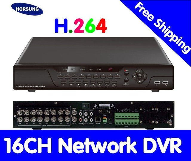 H.264 16CH Realtime Stand alone CCTV DVR