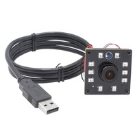 ELP 720P Mini Usb Camera Module IR CUT Infrared Night Vision CMOS OV9712 Board Camera For