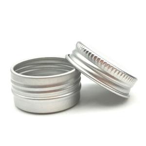 Image 5 - 10 adet alüminyum Metal kozmetik doldurulabilir konteyner profesyonel kozmetik kabı krem kavanoz Pot şişe 5g/15g/30 /50g/60g  15