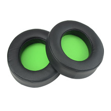 Oval Replacement Ear Pads Cushions earmuff earpads pillow cover for Razer Kraken Pro V2 Gaming headphones