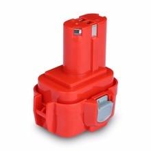 Для Makita 9,6 В 2000 мАч Ni-CD Батарея FLOUREON Перезаряжаемые Батарея пакет Мощность инструменты Батарея Аккумуляторная дрель для Makita 9120 PA09