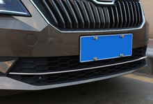 for SKODA superb 2016-2018 Rear Tail box Trim front grille decorate Trim