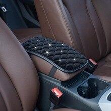 Фланелетт Автомобильная центральная консоль Подушка автомобиля Подушка-подлокотник подушка поднимает подлокотник для хранения