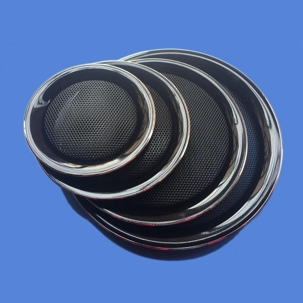 "1pcs 6/""inch car speaker net cover Speaker grille Decorative circle 172mm black"