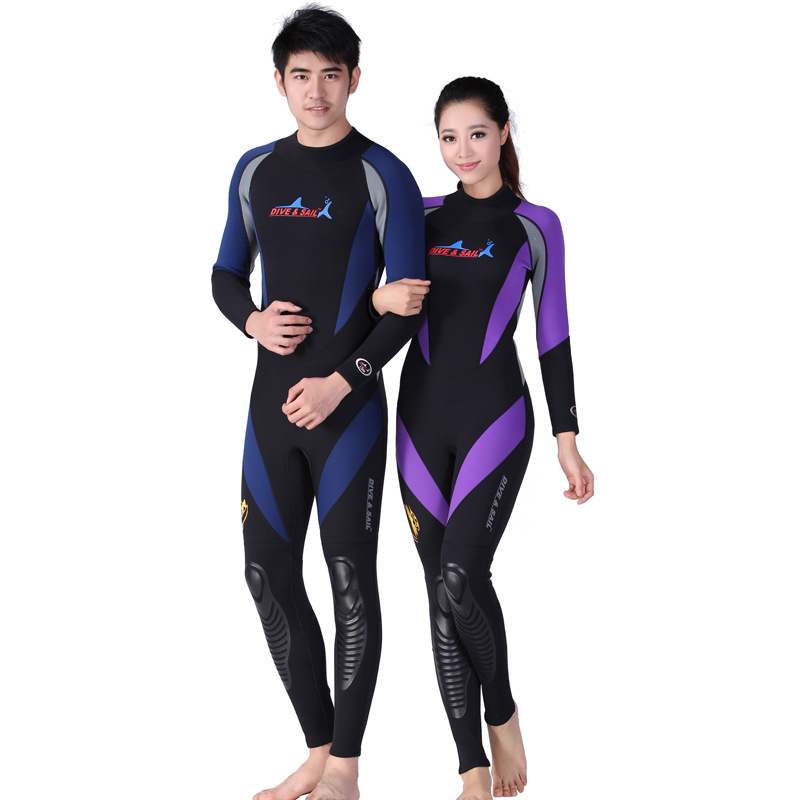 DIVE&SAIL Man Swimwear Surf Swim Women Surfing Swimsuit Neoprene Wetsuit Men Diving Suit Wet Suit For Swimming Full Spearfishing lifurious wetsuits women surfing neoprene surf swimsuit wetsuit for swimming women pink swimwear surfing diving suit long sleeve