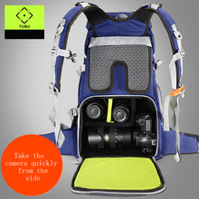 TUBU 6128 Travel Camera Backpack Digital SLR Backpack Soft Shoulders Waterproof Camera Bag Men Women Bag Camera Video Bag