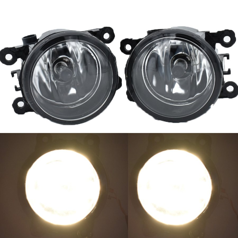 1SET 6000K LED fog lights For DACIA Duster Sandero LOGAN 2004-2015 fog light CCC 12V DRL Front Halogen Fog Lamps авто в москве dacia duster