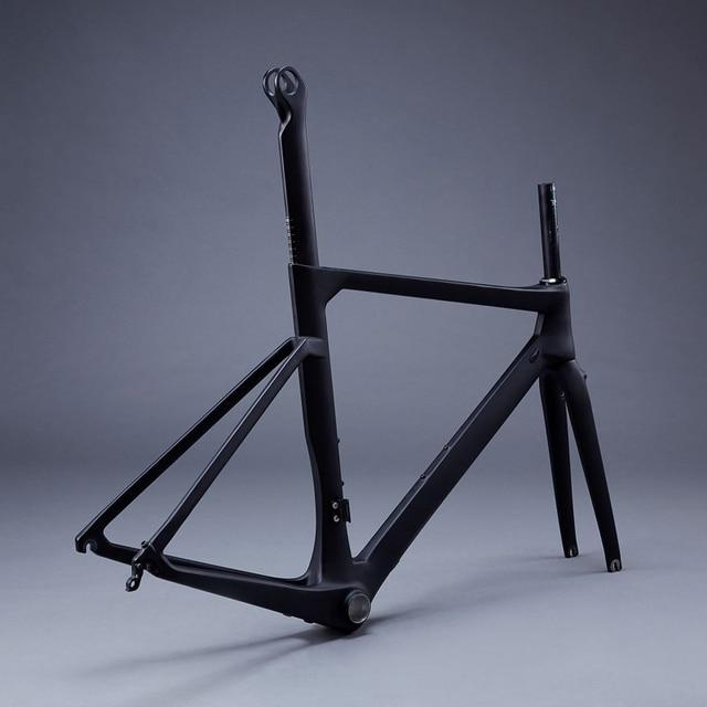 Carbon Road Bike AERO Frame AERO Seatpost Frameset Bicycle ...