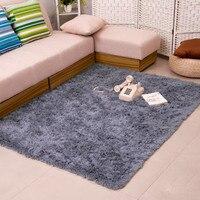 80 200cm Long Hair Carpet Bedroom Decorating Soft Floor Carpet Warm Colorful Living Room Floor Rugs
