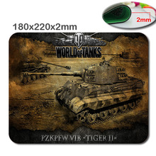 2016 new World of tanks mouse pad Hot sales mousepad laptop mouse pad n