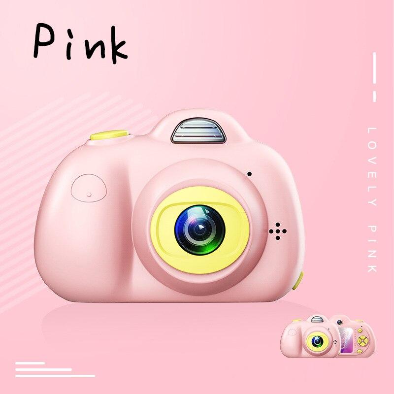 2.0 pouces HD 1080 P Mini enfants caméra enfants avant et arrière double lentille caméra vidéo numérique reconnaissance du visage Camara Fotografica Cam - 5