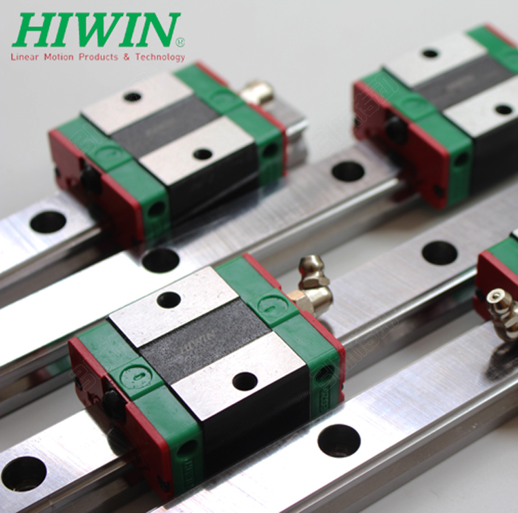 HGH25CA  CNC set 6 HIWIN Linear guide rail carriages Profiles HGH20CA