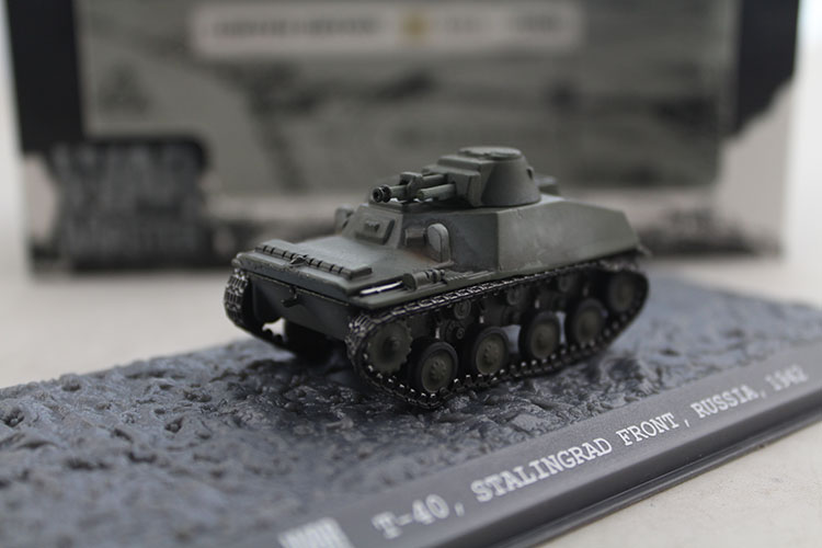 цена на WARMASTER TK0059 1/72 T-40 World War II Soviet Light Alloy Tank Model 80016 Collection model
