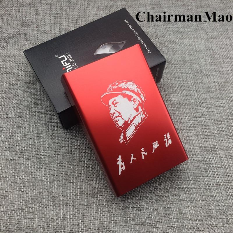 Жекеленген Лайфу сигарет қорапшасы LFXS012 сән үлгісі алюминий қорытпасы ер металдан жасалған темекі түтін қорабы лазерлі
