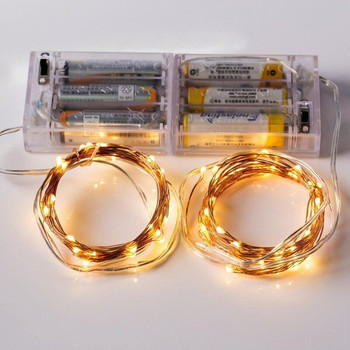 10 Pieces/Lot Best Seller 2M/20Lights 3AA Battery Electric Party Item Type LED Fairy Light String fo
