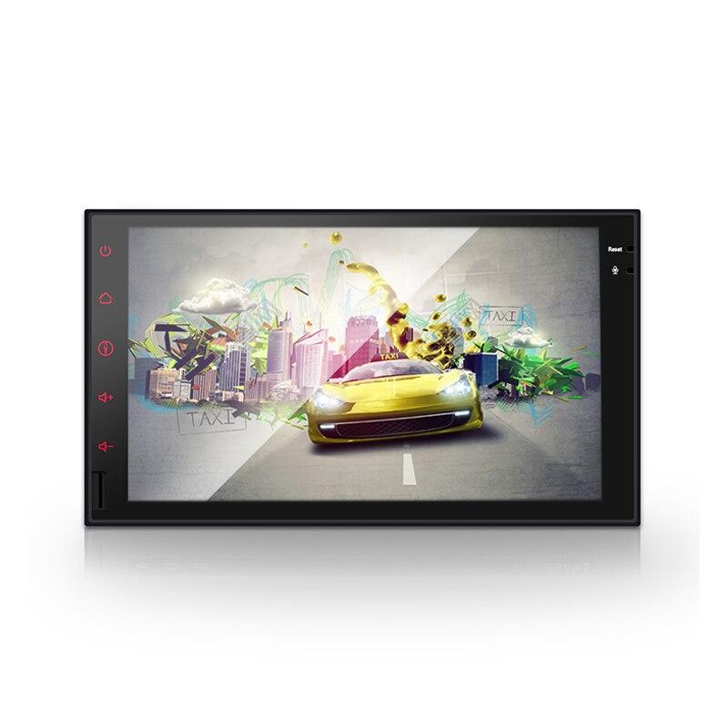 Android 7.1 1G RAM 7 ''1024*600 prise en charge 4G LTE SIM autoradio GPS 2 din universel avec lecteur dvd de voiture Radio (pas de DVD)